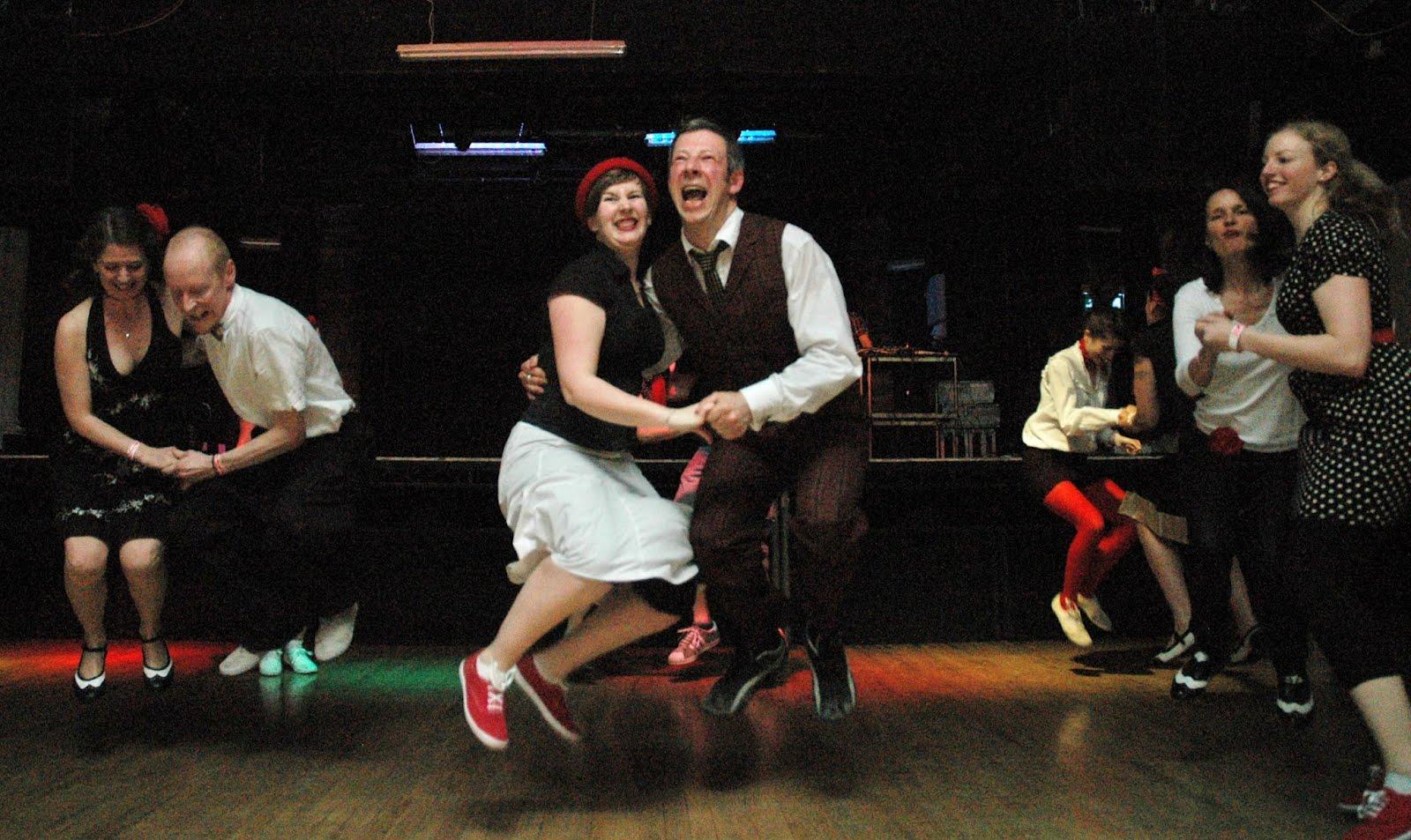 Swing Dance On March 28